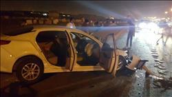 إصابة 7 عمال في انقلاب سيارة بدهشور