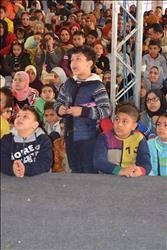 بالصور| إقبال كبير من الأطفال على معرض الكتاب