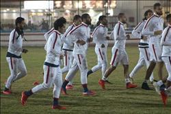 محمود عبدالعزيز ينتظم في مران الزمالك