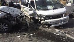 مصرع 12 وإصابة 83 آخرين في حوادث منفصلة خلال 24 ساعة بالمحافظات