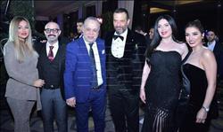 صور| نجوم الفن يحتفلون بخطوبة ابن ماجد المصري.. والليثي وبوسي يحيان الحفل