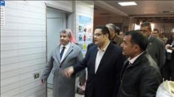 رئيس جامعة بنها يطمئن على سير العمل بالمستشفى الجامعي