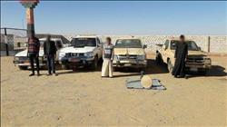 حرس الحدود تضبط 20 قضية تهريب بضائع ومواد مخدرة