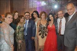 صور| أهل الفن يحتفلون بزفاف ياسر الفاسي وديما المنصوري