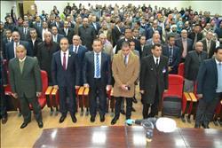 رئيس جامعة طنطا يتفقد سير العملية التعليمية بمجمع كليات سبرباي