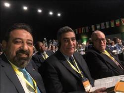 «سيلفي» يجمع أعضاء الجبلاية في مؤتمر «الكاف»