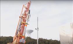شاهد| وكالة فضاء يابانية تطلق أصغر صاروخ في العالم