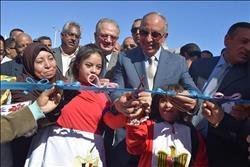 محافظ البحر الأحمر يفتتح المدرسة الفكرية بسفاجا بعد تطويرها