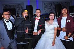صور| العسيلي وأوكا وأورتيجا يتألقون بزفاف شقيقة الموزع جلال فهمي