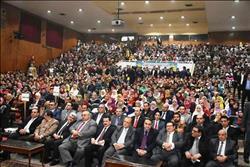 انطلاق فعاليات  مؤتمر الشباب الأول بجامعة الزقازيق