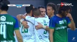 فيديو.. المصري يتقدم على المقاصة بثنائية في الشوط الأول