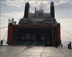 وصول وسفر 1400 راكب بموانئ البحر الأحمر و تداول 488 شاحنة