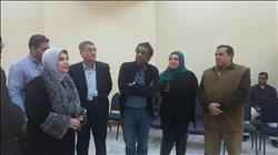 «أحمد عواض» يتفقد قصري ثقافة دمياط القديم والجديد