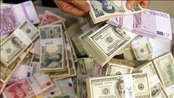 تباين أسعار العملات الأجنبية في منتصف تعاملات اليوم