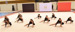 سيطرة دجلاوية على الميداليات الذهبية في «القاهرة للجمباز»