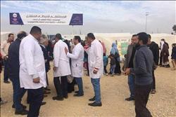 قافلة طبية للكشف على المنقولين من الشيخ زويد ورفح إلى العريش