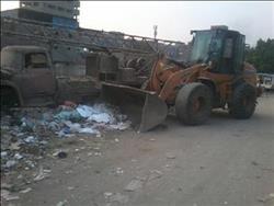 رئيس شبين القناطر: رفع 24 طن قمامة ومخلفات
