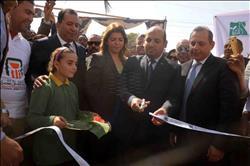 محافظ الأقصر يفتتح مشروعات «مصر الخير» بقرية كومير في إسنا