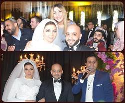 صور| جنات تُحيي زفاف «محمد وفرح».. وشيبة يُشعل الأجواء بـ«الزهر»
