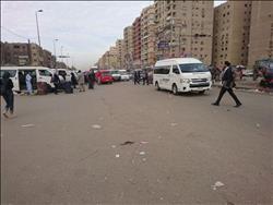 صحافة المواطن| المواقف العشوائية تسيطر علي الطريق بالحى العاشر بمدينة نصر