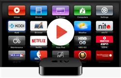جوجل تطلق تحديثًا لتطبيقات أجهزة «Apple TV»