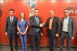 الفار نائبا عن وزير الرياضة في تدشين البيت الروسي للمشجع المصري