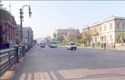 سيولة مرورية بكافة محاور وميادين القاهرة والجيزة
