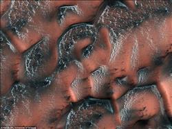صور   ناسا تكشف النقاب عن منحدرات مذهلة على كوكب المريخ