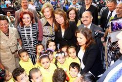 وزيرة التضامن تفتتح مدرسة هدى شعراوي بعد تطويرها .. الأح