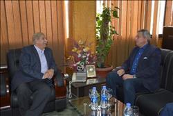 محافظ الإسماعيلية يستقبل وزير الشباب والرياضة