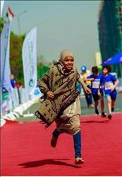 مهرجان أسوان يكرم  مروة حسن بطلة «ماراثون مجدي يعقوب»