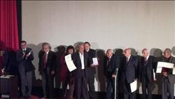 تكريم الفنان فاروق الفيشاوي بمهرجان جمعية الفيلم