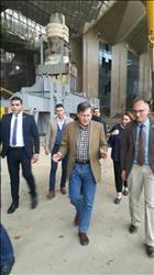 مساعد وزير الخارجية الأمريكي يزور  المتحف المصري الكبير