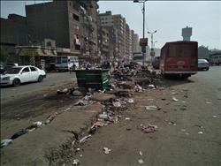 لقطة اليوم.. أهالي شبرا الخيمة يتجاهلون عربات القمامة