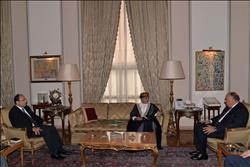 شكري يستقبل نائب رئيس البرلمان العربي