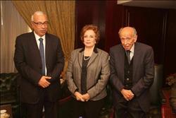 جيهان السادات: الله أنقذ مصر بـ«السيسي»