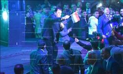 صور| محمود فؤاد وأحمد جمال يدعمان «السيسي» في قنا