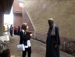 حملة للتوعية بأهمية مشروع الصرف الصحي بسوهاج