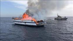 حريق يلتهم مركب في أسوان.. وإصابة 4 صيادين