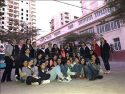 بالصور .. مبادرة طلابية لإعاده تجميل شوارع الإسكندرية