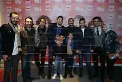 صور| محمد نور وحمادة هلال يحتفلان بالعرض الخاص لـ«نص جوازة»