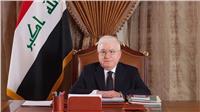 الرئيس العراقي يبحث مع وفد بريطاني زيادة المساعدات المقدمة لبلاده