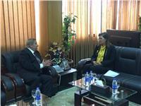 وزيرة التخطيط تفتتح مشروع تطوير خدمات المواطنين والمستثمرين بالإسماعيلية