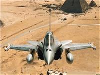 القوات الجوية تدمر 10 سيارات دفع رباعي محملة بالأسلحة والذخائر على الحدود الغربية