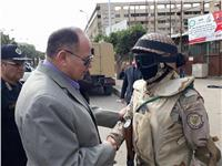 صور| مديرا أمن الجيزة وشرطة السياحة يتفقدان المنطقة الأثرية بالهرم