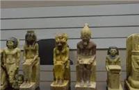شرطة السياحة تضبط شخص بحوزته 18 قطعة يشتبه في أثريتها