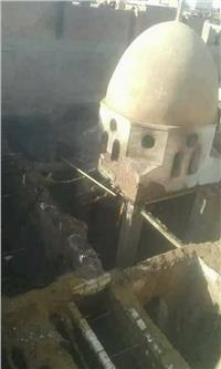 إصابة 5 في اندلاع حريق هائل بكنيسة العذراء ببني مزار