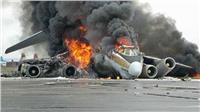 سقوط طائرة إيرانية جنوب أصفهان وعلى متنها 100 راكب