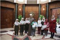 صور| شيخ الأزهر يكرم الفائزين بمسابقة «القدس عربية»