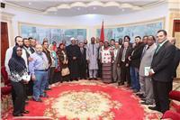 رئيس بوركينا فاسو: أشكر شيخ الأزهر على دعمه